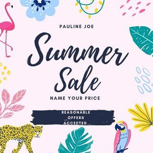 Name Your Price Summer Sale
